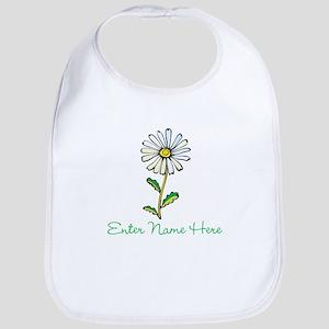 Personalized Daisy Bib