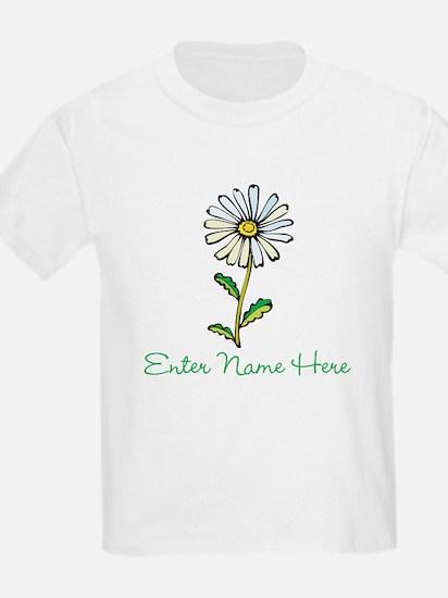 Personalized Daisy T-Shirt