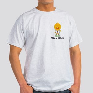 Ultra Chick Peace Love 100 Light T-Shirt