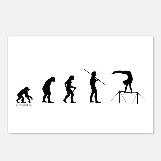 Gymnast Evolution5 Postcards (Package of 8)