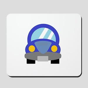 Blue Car Mousepad