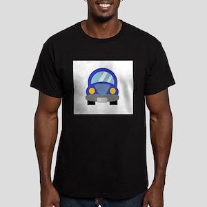 Blue Car Men's Fitted T-Shirt (dark)