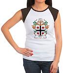 Ellis Coat of Arms Women's Cap Sleeve T-Shirt