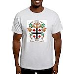 Ellis Coat of Arms Ash Grey T-Shirt