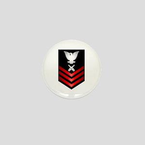 Navy Gunner's Mate First Class Mini Button