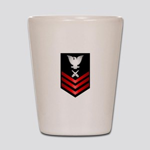 Navy Gunner's Mate First Class Shot Glass