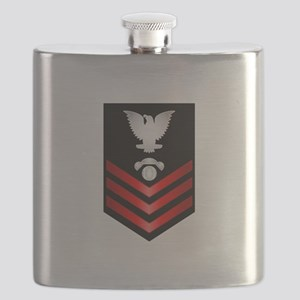Navy Interior Comm Electrician First Class Flask