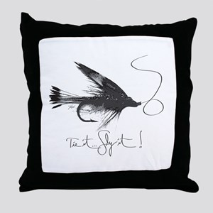Tie It, Fly It! Throw Pillow