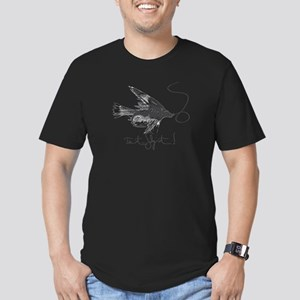 Tie It, Fly It! Men's Fitted T-Shirt (dark)
