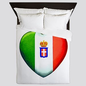 My Italian Heart Queen Duvet