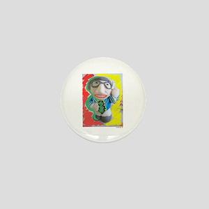 Pop Kreskin (red/yel) Mini Button