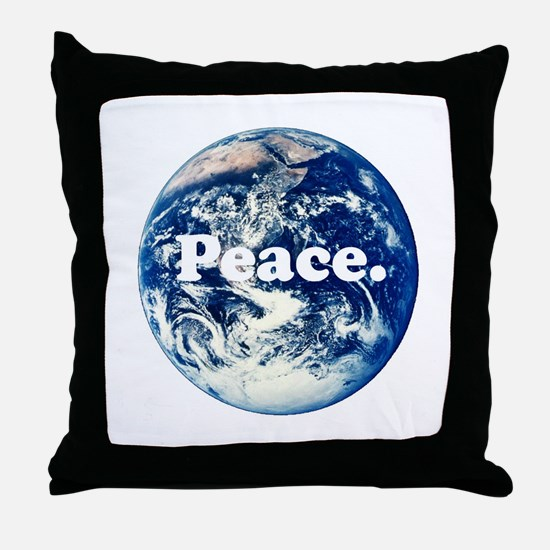 Support Peace Throw Pillow