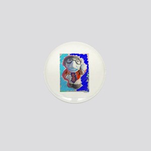 Pop Kreskin (blue) Mini Button