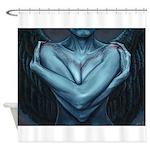 Tell-Tale Heart Shower Curtain