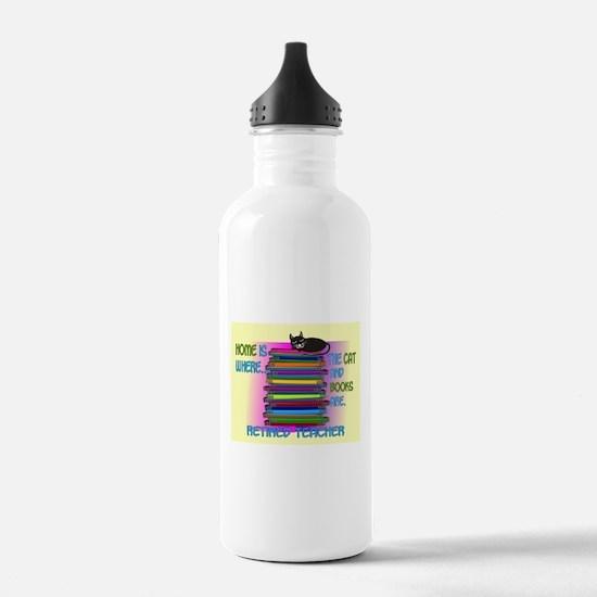 Retired teacher blanket size.PNG Water Bottle