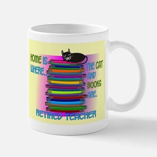 Retired teacher blanket size.PNG Mug
