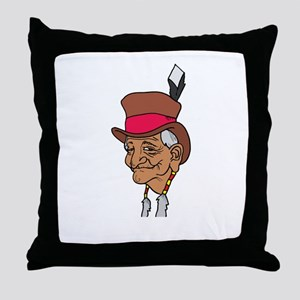 Native American Culture Throw Pillow