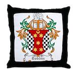 Dobbin Coat of Arms Throw Pillow