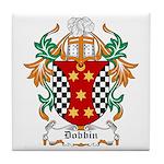 Dobbin Coat of Arms Tile Coaster