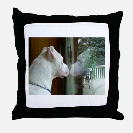 Toga Reflection Throw Pillow