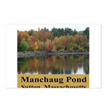 Manchaug Pond Postcards (Package of 8)