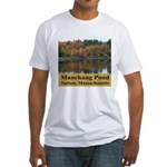 Manchaug Pond Fitted T-Shirt