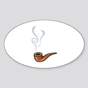 Smoking Sticker (Oval)