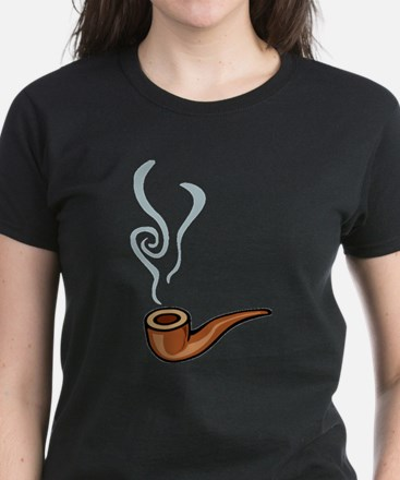 Smoking Women's Dark T-Shirt