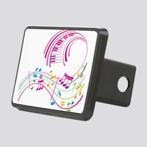 Music Art Rectangular Hitch Cover