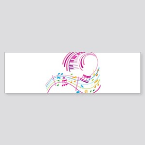 Music Art Sticker (Bumper)