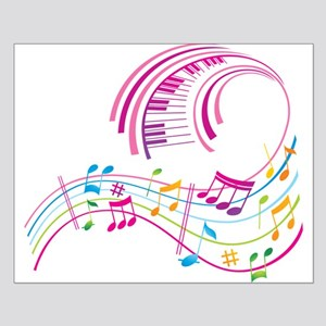 Music Art Small Poster
