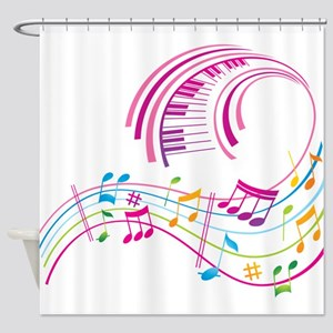 Music Art Shower Curtain