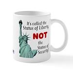 Liberty, Not Security Mug