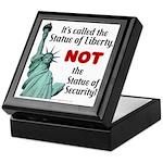 Liberty, Not Security Keepsake Box