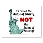 Liberty, Not Security Small Poster