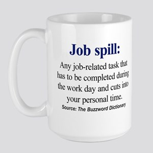 Right-handed Job spill Mug