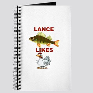 Lance Bass Likes Rooster Journal