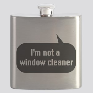 IT Crowd - I'm not a window cleaner Flask