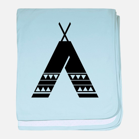Native American Culture baby blanket
