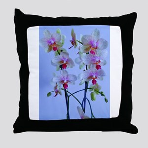 twin stems Throw Pillow