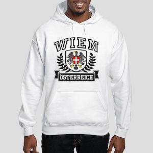 Wien Osterreich Hooded Sweatshirt