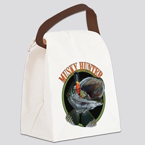 Musky hunter 8 Canvas Lunch Bag
