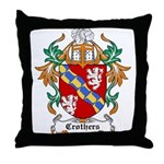 Crothers Coat of Arms Throw Pillow