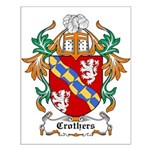 Crothers Coat of Arms Small Poster