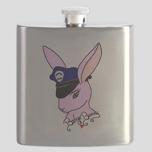 Badge Bunny Flask