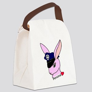 Personal Badge Bunny (Girlfriend) Canvas Lunch