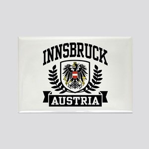 Innsbruck Austria Rectangle Magnet