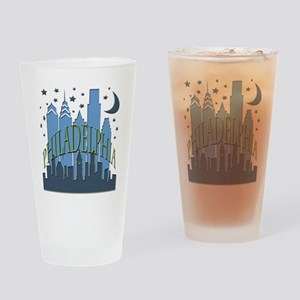 Philly Skyline cool Drinking Glass