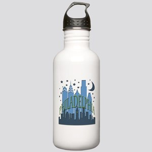 Philly Skyline cool Stainless Water Bottle 1.0L