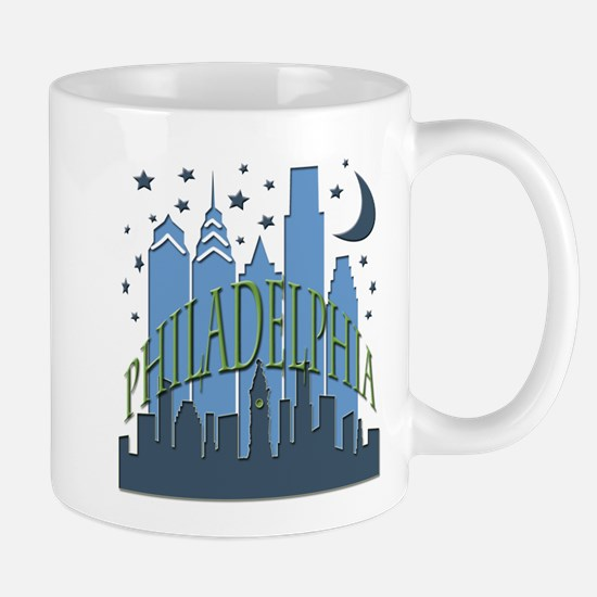 Philly Skyline cool Mug
